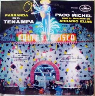 PACO MICHEL parranda en el tenampa LP MEXICO DML 8221