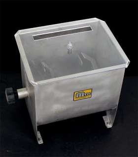 New MTN Stainless Steel Hand Meat Sausage Mixer  32LBS