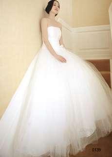 NEW Donna Bella Size 8 Elegant Bridal Gown Maxi Wedding Dress 00139