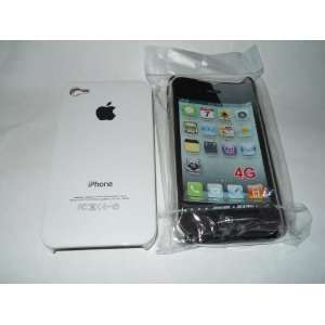 White Replicase Hard Crystal Air Jacket Case iPhone 4 4G