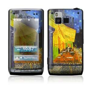 LG Dare VX9700 Skin Sticker Decal Cover   Cafe at Night