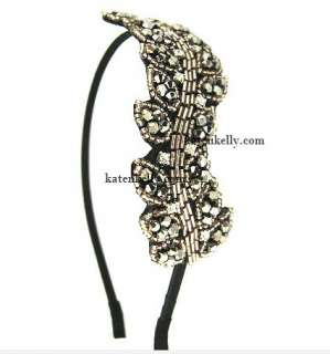 Korean Drama My Princess Crystallized Leaf Headband