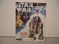 1977 MPC STAR WARS R2 D2 ROBOT DROID 1ST ISSUE MODEL KIT MIB