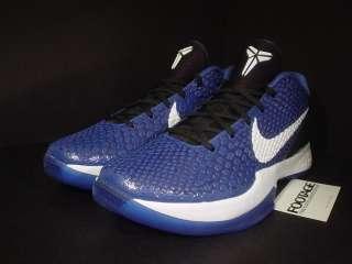 Nike Zoom Kobe VI 6 DUKE ROYAL BLUE WHITE BLACK DS 9