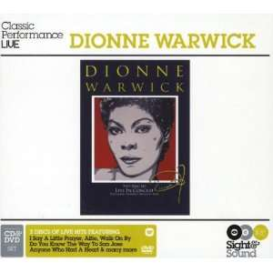 Sight & Sound Live in Concert (W/Dvd) (Ntsc) Dionne Warwick Music