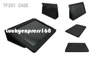 Leather Case Cover for Asus Eee Pad Transformer Prime TF201