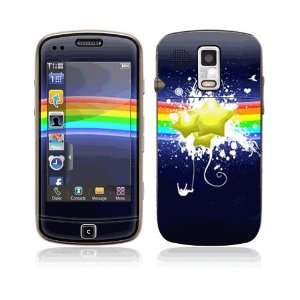 Rainbow Stars Decorative Skin Cover Decal Sticker for Samsung Rogue