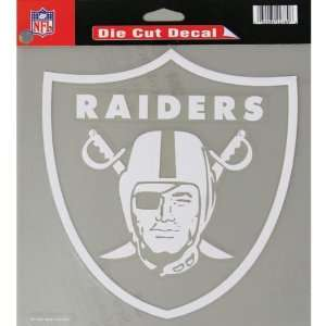 Oakland Raiders   Logo Cut Out Decal: Automotive