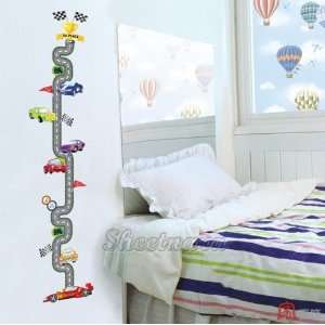 Mural Art Wall Paper Stickers  Racing Cars Swst 30
