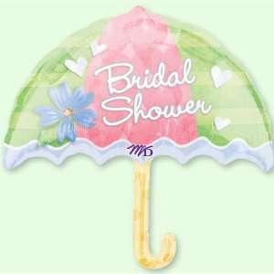24 Big Umbrella Bridal Shower Mylar Balloon Toys & Games
