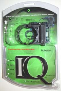 NEW IQ RETINA LOCK BOW SIGHT 7 PIN RH FIELD LOGIC