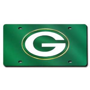 Green Bay Packers License Plate Laser Tag Sports