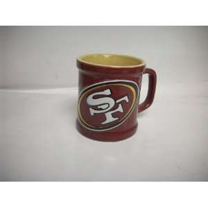 San Francisco 49ers 3 D Sculpted 11 oz Coffee Mug Sports