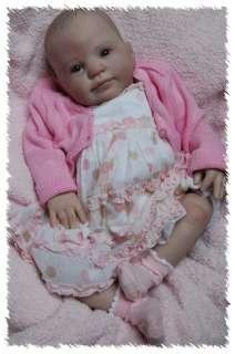 NEW RELEASE Reborn HOLLY ooak doll lifelike art ARTIST Baby GIRL