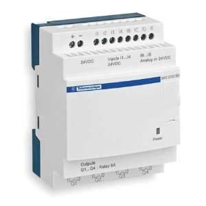 SCHNEIDER ELECTRIC SR2E201BD Logic Relay,24VDC,Without
