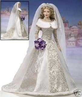FRANKLIN MINT Katarina FABERGE Vinyl Winter Bride Doll
