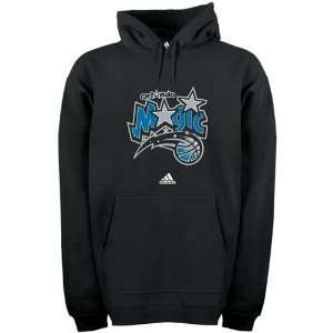 Orlando Magic Black Prime Logo Hoody Sweatshirt: Sports & Outdoors