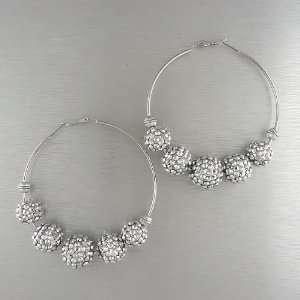 Jewelry Basketball Wives Poparazzi Hoop Earrings
