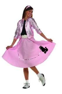 NEW TEEN GIRLS PINK LADY 1950S BOMBER COSTUME JACKET