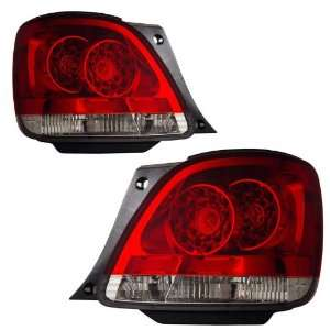 1998 2005 Lexus GS300/400/430 KS LED Red/Clear Tail Lights
