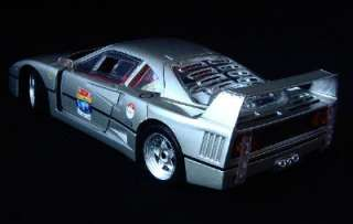 Ferrari F40 60th Anniversary Hot Wheels Diecast 118 Scale   Silver