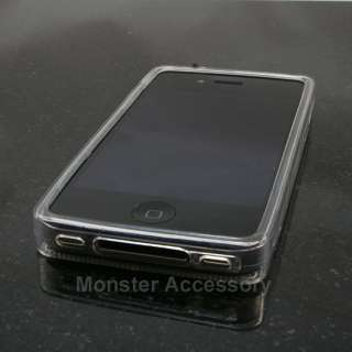 Clear Cassette Candy Skin TPU Gel Case Cover for Apple iPhone 4S NEW