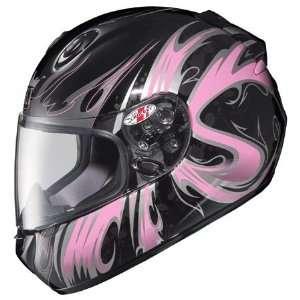Rocket RKT 201 Gothic Full Face Motorcycle Helmet Large  Pink