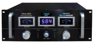 PylePro PDG5000 5000 watts Professional Stereo Power Amplifier