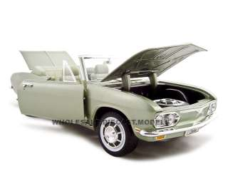 model of 1969 Chevrolet Corvair Monza die cast car by Road Signature