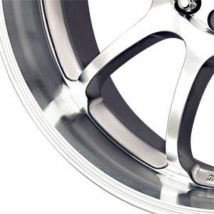 New 17 4 100/4 114.3 Rage A10 Silver Machined Face Wheels Rims