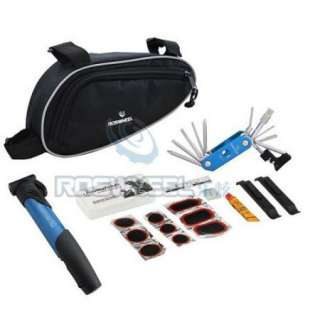 Cycling Bicycle tools Bike repair kits with Pouch Pump