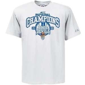 Majestic Duke Blue Devils White NCAA 2009 ACC Mens Basketball