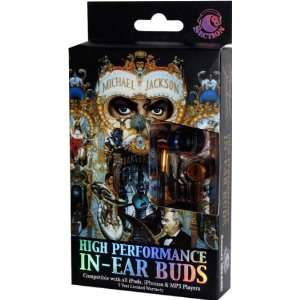 Michael Jackson Dangerous Ear Bud Headphones Electronics