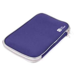 Midnight blue water resistant laptop / notebook carry case / bag