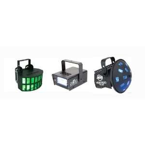 American DJ Aggressor & Vertigo LED w/FREE Chauvet Mini