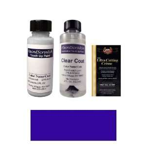 2 Oz. Indian Lake Blue Metallic Paint Bottle Kit for 1989