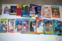 PAUL MOLITOR Brewers Oddball lot (16) diff. Rare