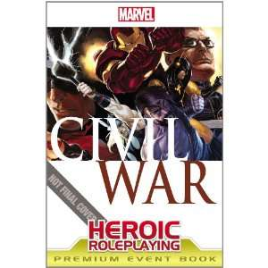 Marvel Heroic Roleplaying Civil War Event Book Premium