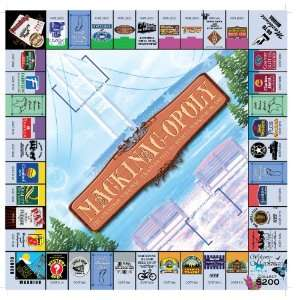 Mackinac opoly Board Game Toys & Games