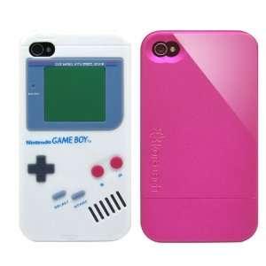 2pcs Set Nintendo Game Boy Silicone Case White + KoreTech