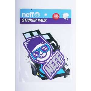Neff Rock & Roll Multi Sticker Pack Arts, Crafts & Sewing