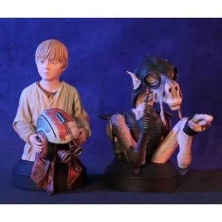 GENTLE GIANT Star Wars Sebulba and Anakin Mini Bust Busts 2 Pack Set