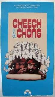 X054 Lot of 2 VHS Cheech & Chong, Up in Smoke, &