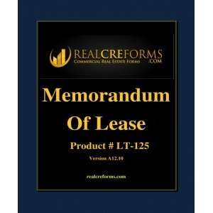 Memorandum Of Lease Office Products