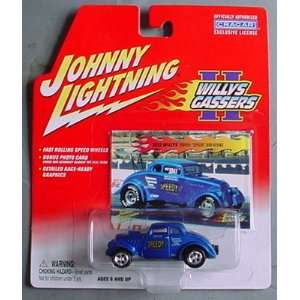 Johnny Lightning Willy Gassers II 2 1933 Willys Speedy Bob