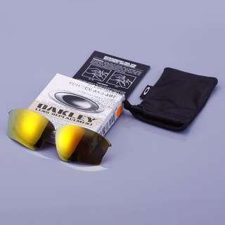 OAKLEY HALF JACKET XLJ Sunglasses LENS KIT FIRE IRIDIUM 13 410