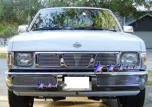 Billet Grille Insert 95   97 Nissan Pickup Hardbody Front Grill