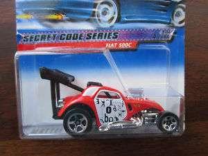 Hot Wheels 2000 Secret Code Series #1/4   Fiat 500C #45