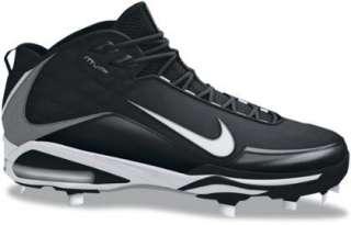 NIKE Air Max MVP Black White 334338 011 Baseball Cleat Men