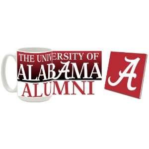 Alabama Crimson Tide Alumni Mug and Coaster Combo Sports
